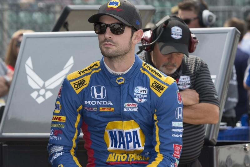 Zweiter beim Indy 500: Alex Rossi hadert mit Leistungsdefizit und Gelbphase