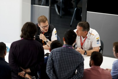 McLaren-Boss Zak Brown: Jetzt haben wir nur noch einen Koch