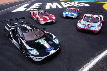 24h Le Mans 2019: Ford geht mit historischen Lackierungen an den Start