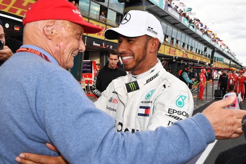 Lewis Hamilton: Ohne Niki Lauda wäre ich nur einmal Weltmeister