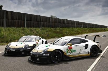 WM-Feier und Retro-Design: Porsche in Le Mans mit Speziallackierung