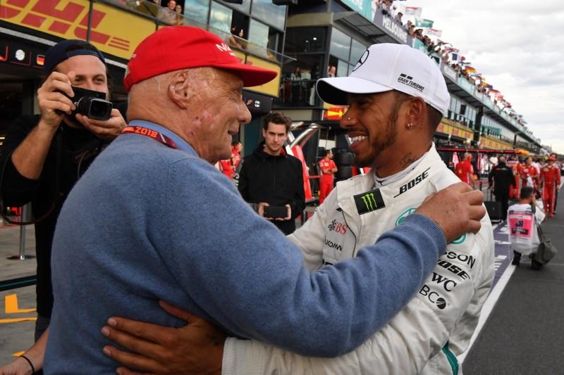 Brawn: Lauda hat bei Mercedes das Geld für Lewis Hamilton aufgetrieben