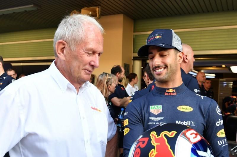 """""""Du bist ein Idiot"""": Daniel Ricciardos schlimmstes Telefonat mit Helmut Marko"""