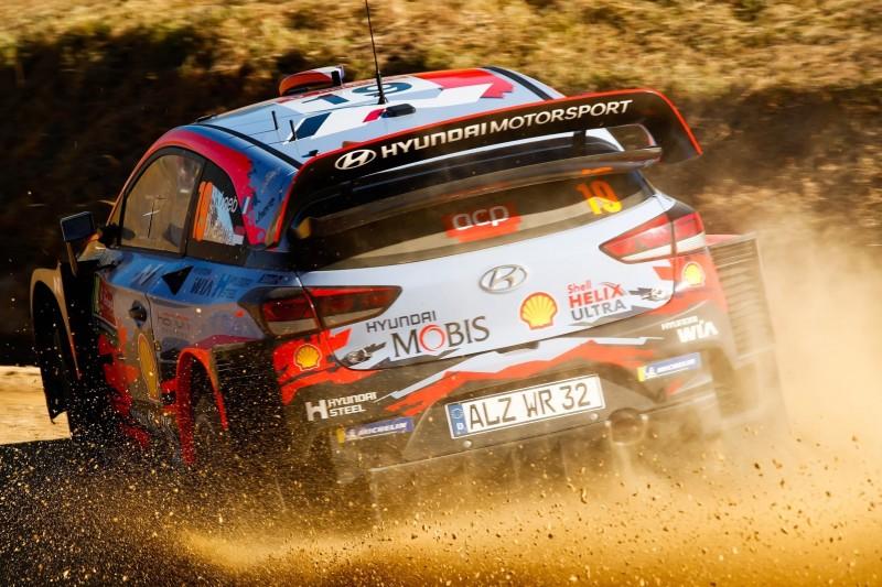Rallye Portugal: Doppelte Technikpanne dezimiert Hyundai-Team