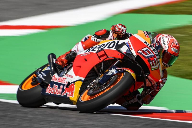 Honda-Sorgen in Mugello: Marquez mit Fieber, Lorenzo nur auf Position 20