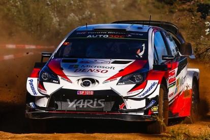 Rallye Portugal: Toyota-Dreifachführung am Freitag