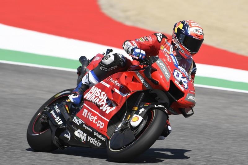 Ducati in Mugello: Petrucci krank, Dovizioso nur Elfter