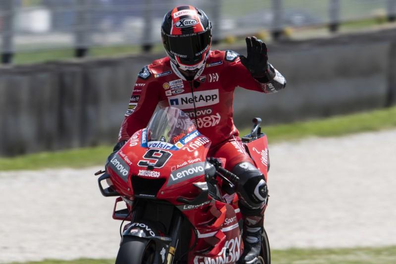 MotoGP Mugello FT3: Petrucci fährt Rundenrekord, Rossi und Dovizioso in Q1