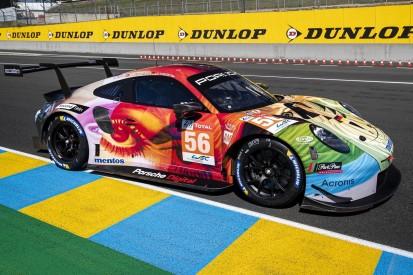 24h Le Mans 2019: Porsche von Project 1 wird zum Art-Car