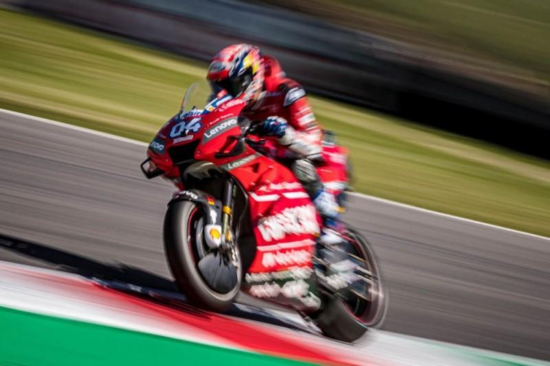 Ducati: Einige Fragezeichen bei Andrea Dovizioso und Danilo Petrucci