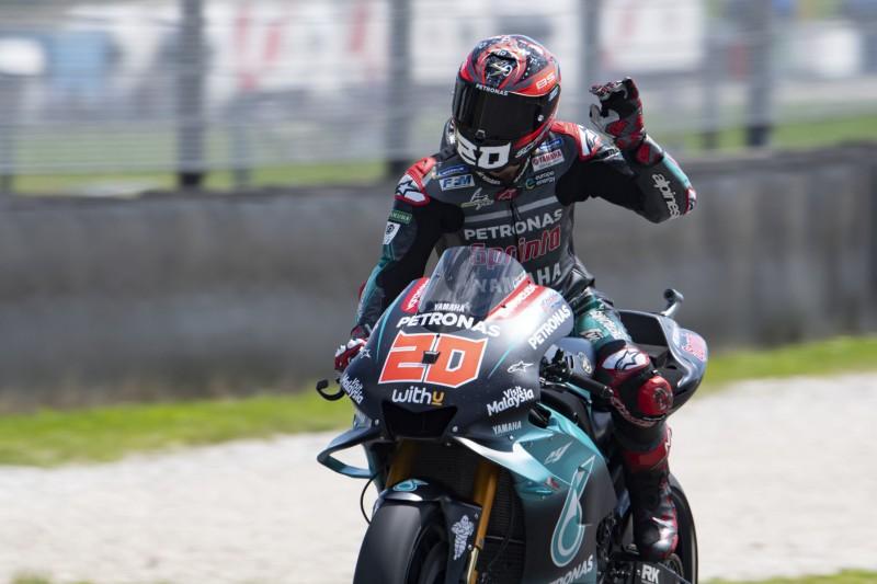 Startplatz zwei in Mugello: Quartararo wieder beste Yamaha