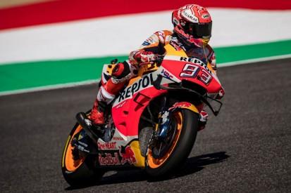 MotoGP Mugello Warm-up: Marc Marquez vorn, Valentino Rossi nur 15.