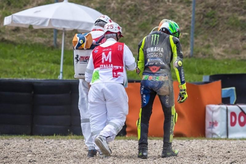 """""""War nie schnell"""": Crash beendet Rossis Desaster-Wochenende in Mugello"""