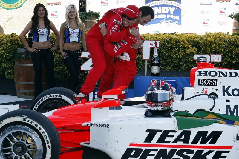 Castroneves wins at Sears Point