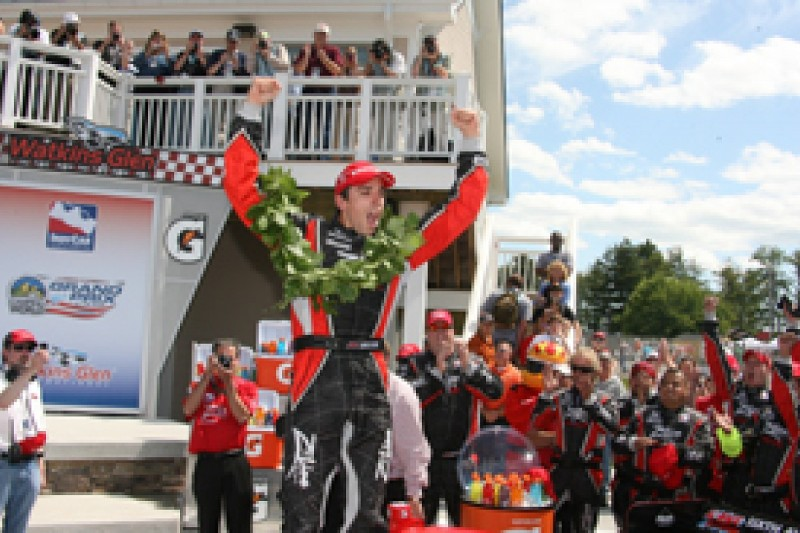 Wilson takes Dale Coyne's first win