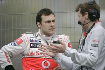 Paffett to stay on as McLaren tester