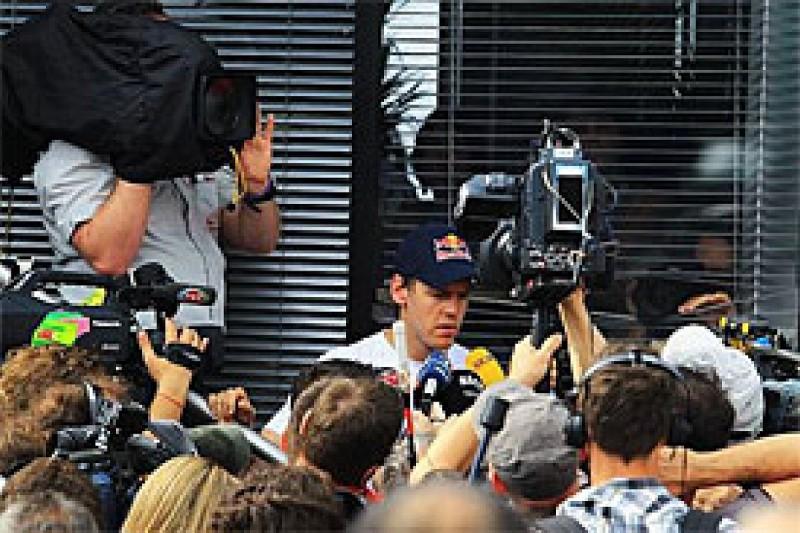 Vettel insists collision not his fault