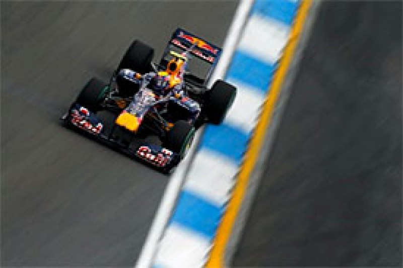 Webber laments Q3 driving mistake