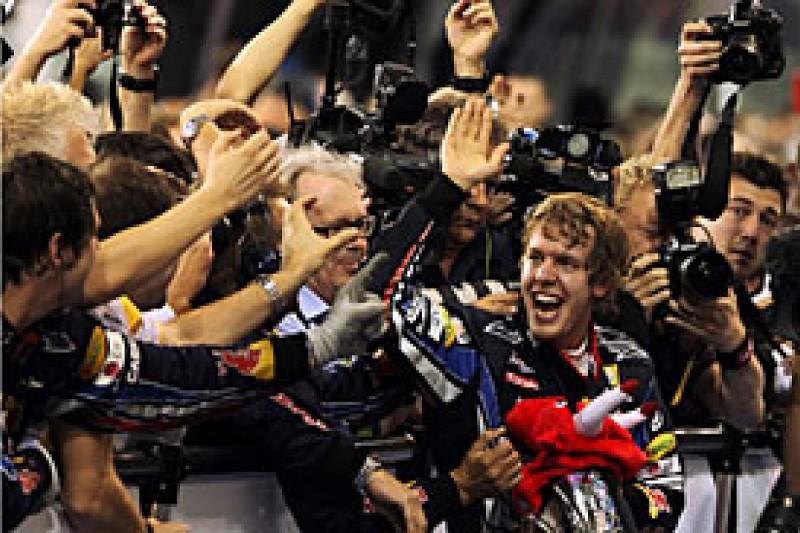 Vettel wins championship and race
