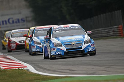 Huff takes pole hat-trick at Monza