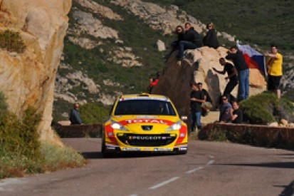 Neuville ahead after Bouffier delay