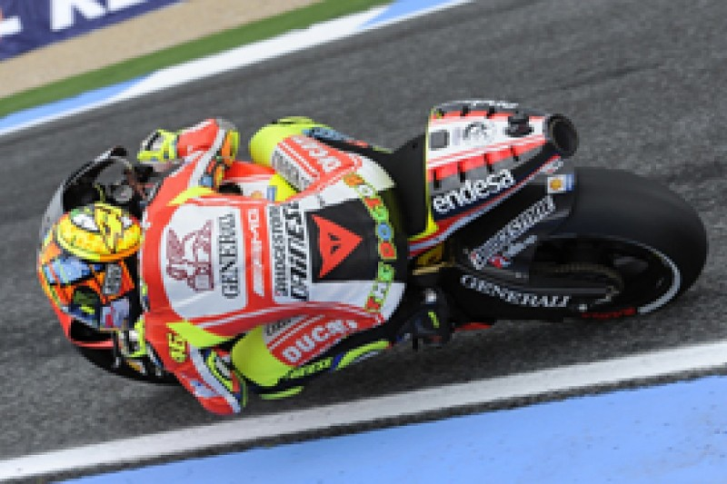 Rossi optimistic of improved pace