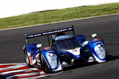 Peugeot heads Audi in warm-up