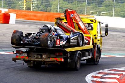 Lamy crash ends second Spa practice