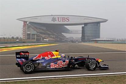 Vettel fastest again in China practice