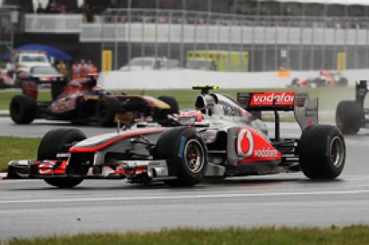 Button wins chaotic Canadian Grand Prix