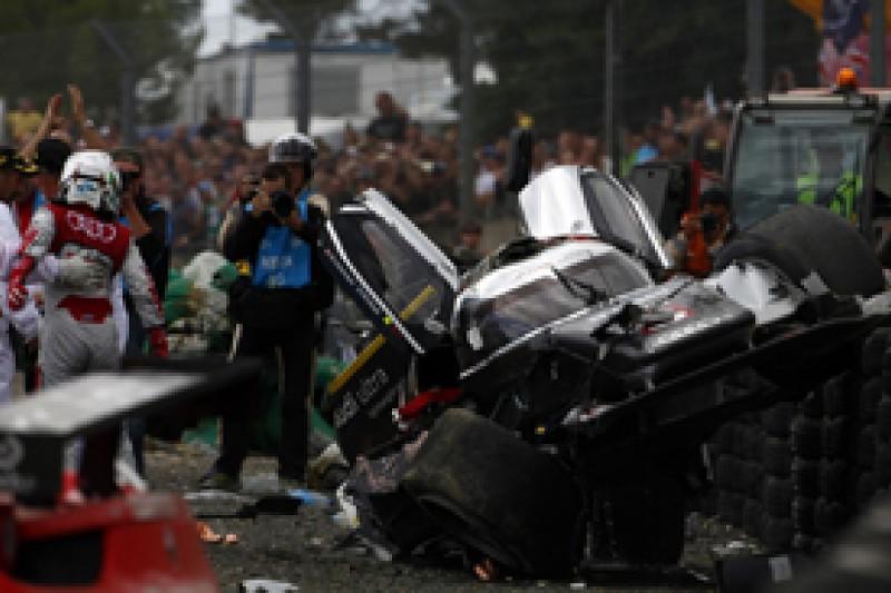 McNish: Crash pass not ambitious