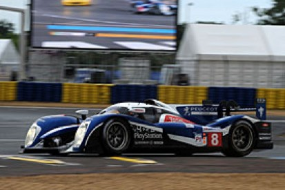 Peugeot's Sarrazin on provisional pole