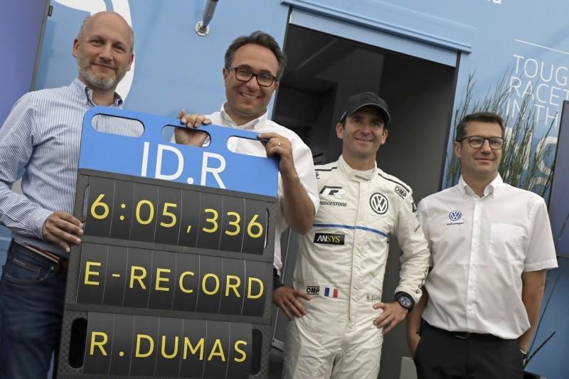 Romain Dumas: Trotz Marathon-Programm zum Nordschleifen-Rekord