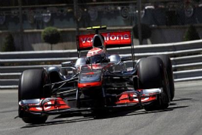 Button: Slippery track hampered me