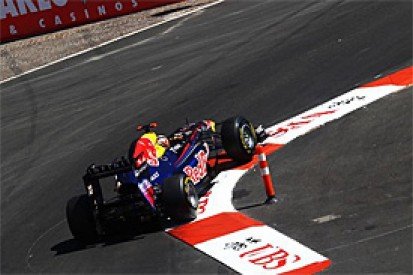 Vettel on Monaco pole as Perez crashes