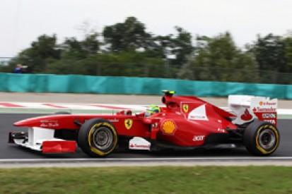 Felipe Massa fears starting on dirty side of Hungaroring grid will cost him