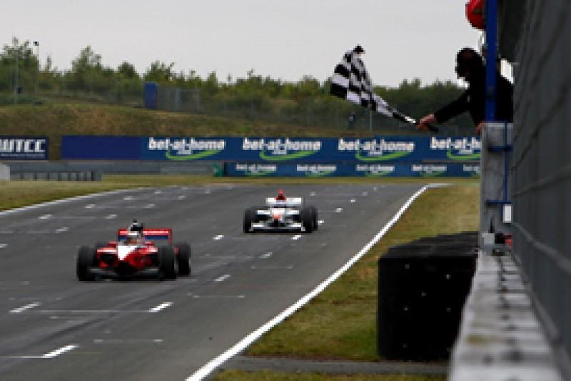 Sergey Afanasiev takes second Auto GP win at damp Oschersleben