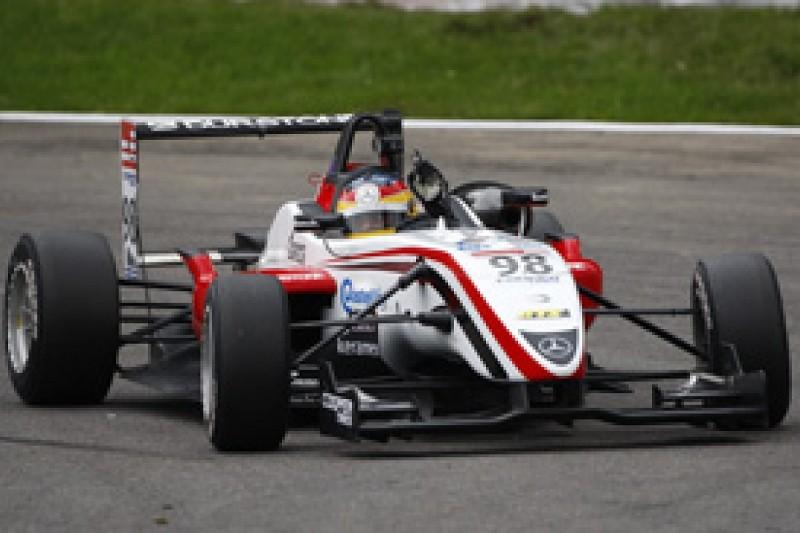 Roberto Merhi wins first British F3 race at Spa for Prema Powerteam