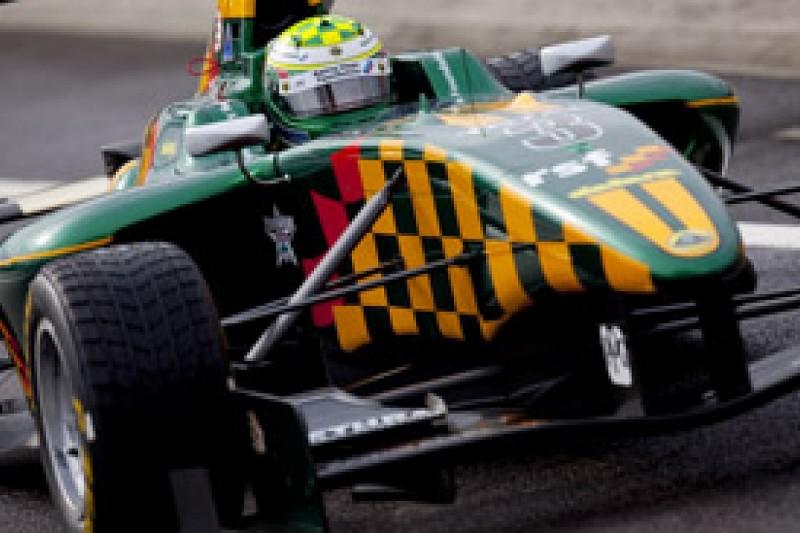 James Calado set the pace in Hungary as Luciano Bacheta survives scary crash