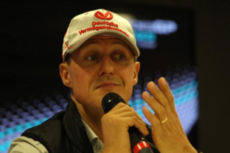 Michael Schumacher says tyre wear is no longer Mercedes' big weakness