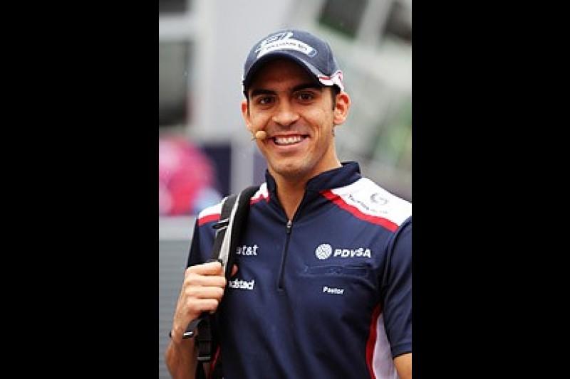 Maldonado optimistic of breaking F1 points duck in Hungary