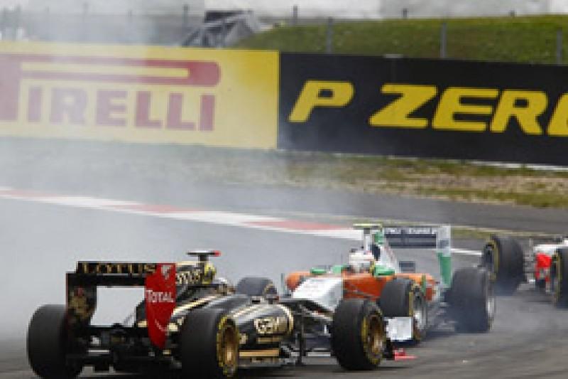Paul di Resta still annoyed with Nick Heidfeld over German GP collision