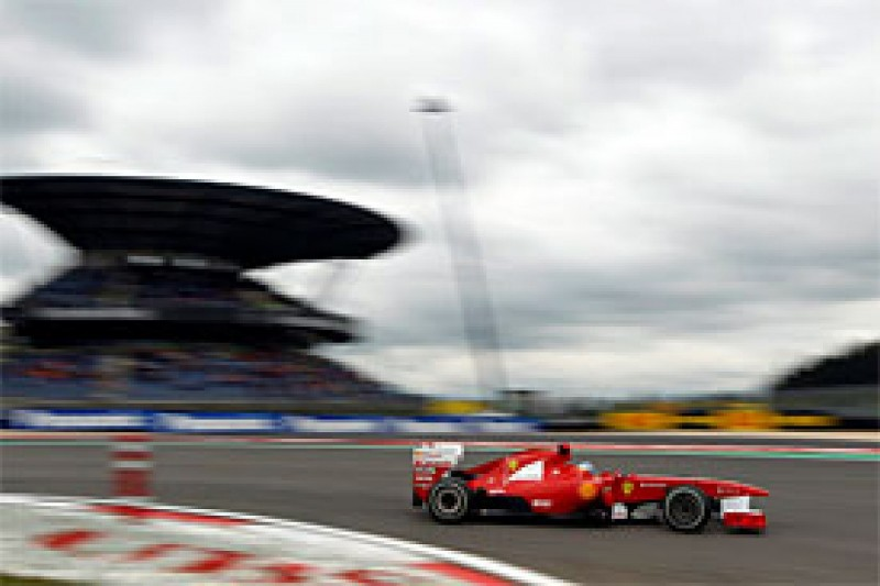 Alonso goes quickest in first practice for the German Grand Prix
