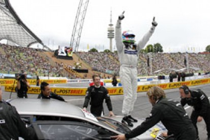 Bruno Spengler takes victory on second day of DTM Show Event in Munich