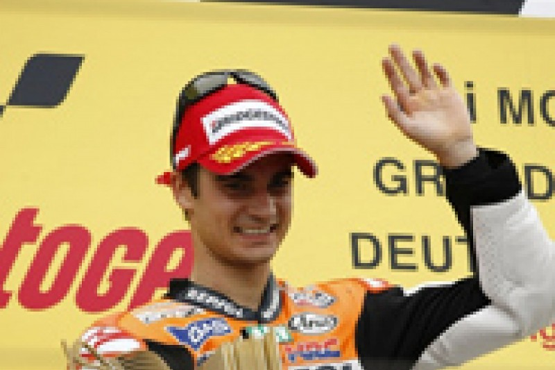 Dani Pedrosa admits his surprise at winning the German Grand Prix