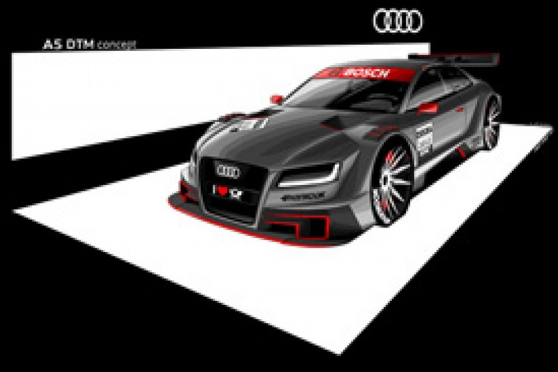Audi releases images of the A5 its 2012 DTM campaign will be built around