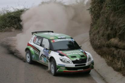 Juho Hanninen maintains Rally Azores advantage for Skoda