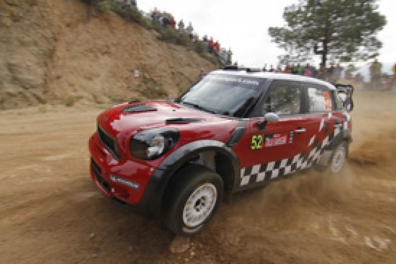 Mini WRC team withdraws from Rally Estonia due to testing damage