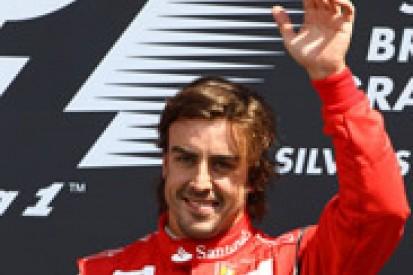 Alonso not thinking about F1 title despite Ferrari's Silverstone resurgence