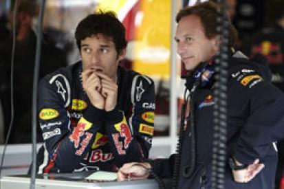 Red Bull hopeful Mark Webber will stay in 2012, despite team orders row